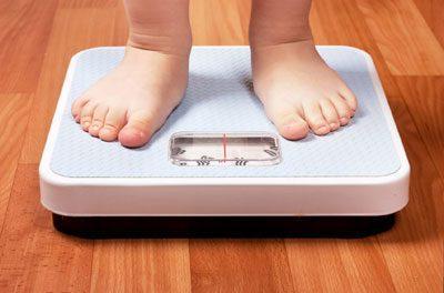 Контроль веса ребенка