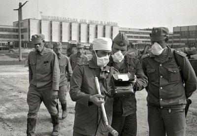 Ликвидаторы чернобыльской аэс