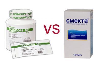 Какой из препаратов выбрать - полисорб или смекту