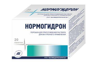 Препарат Нормогидрон