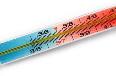 Градусник для измерения температуры