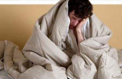Человек под одеялом