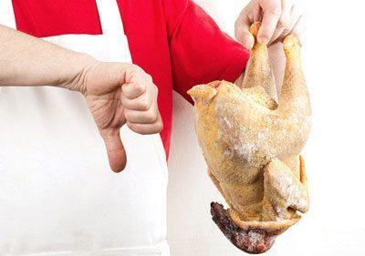 Испорченная курица