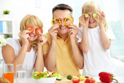 Еда и хорошее настроение