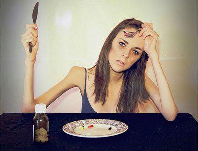 Анорексия у девушки