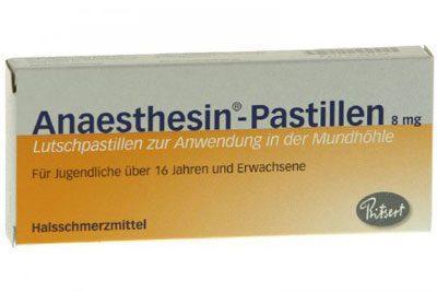 Препарат Анестезин