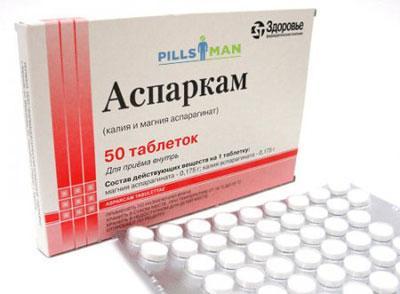 Симптомы и лечение предозировки аспаркамом