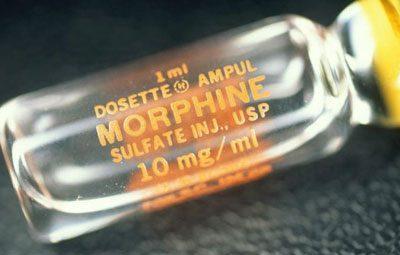 Морфин для наркоза