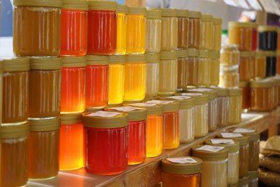 Мед на рынке