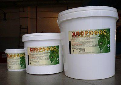 Хлорофос в упаковках
