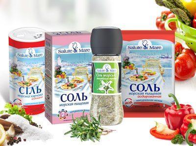 Морская пищевая соль