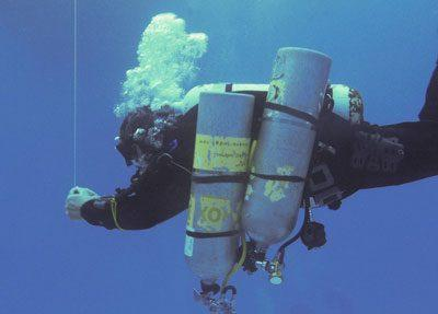 Спуск под воду