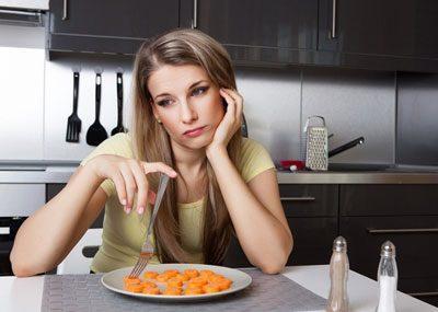 Девушка без аппетита