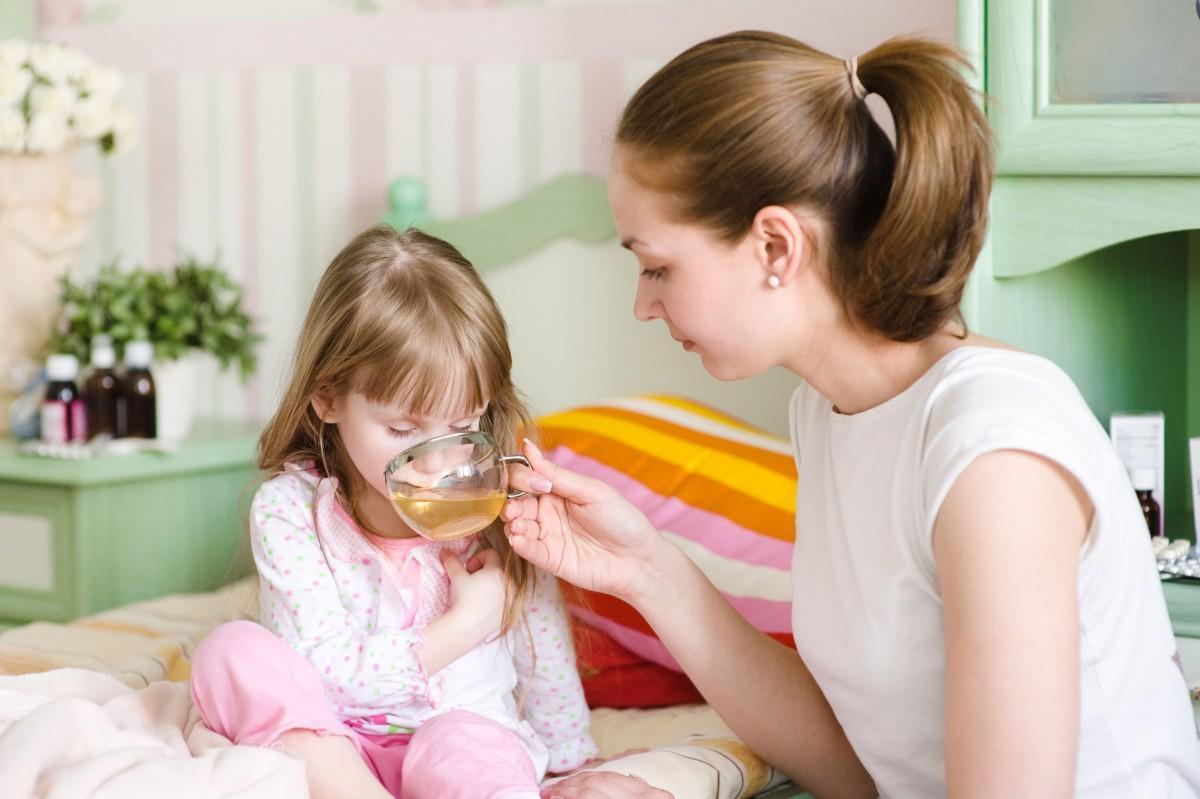 Лечение рвоты у детей