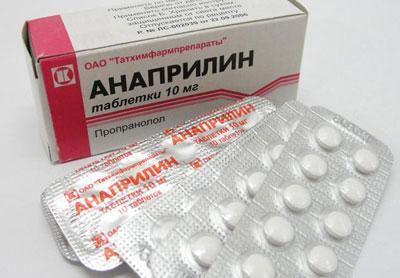 Передозировка и смерть от анаприлина