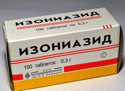 Антидот и первая помощь при передозировке изониазидом