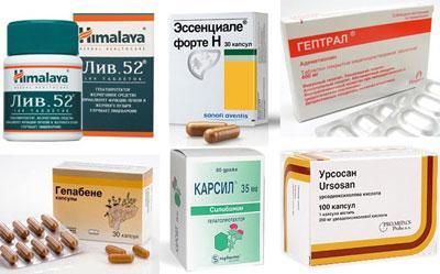 Препараты для чистки печени — ТОП 7 эффективных препаратов для очищение печени, советы врачей