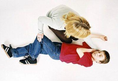 Припадок у ребенка
