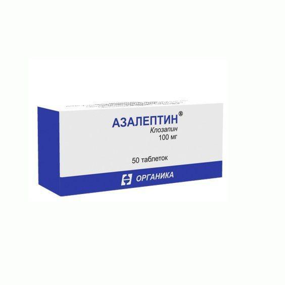 Передозировка и отравление азалептином