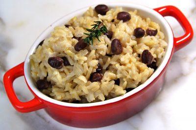 Фасоль и рис