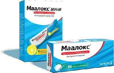 Препараты маалокс