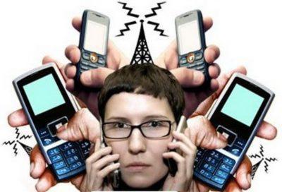 Мобильник и человек