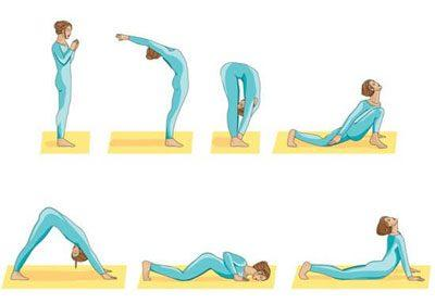Йога для расслабления спины