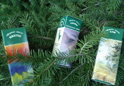 Эфирные масла хвойных деревьев