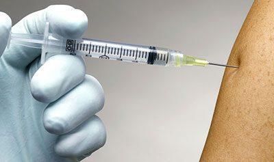 Прививка от тифа