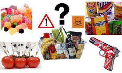 Продукты с канцерогенами