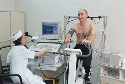 Обследование в санатории