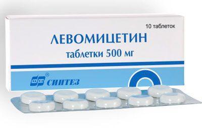 Препарат Левомицетин