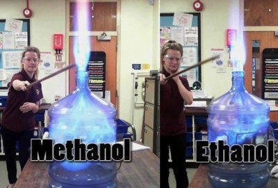 Отличие этанола от метанола