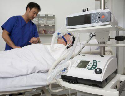 Лечение с искусственной вентиляцией лёгких