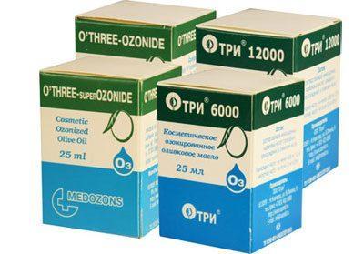 Косметические средства с озоном