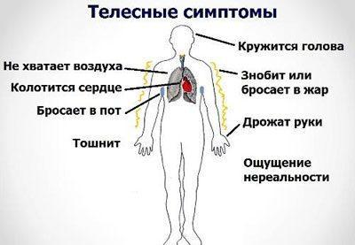 Признаки вегетососудистой дистонии