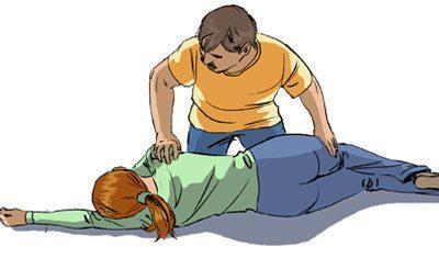 Первая помощь для пострадавшего