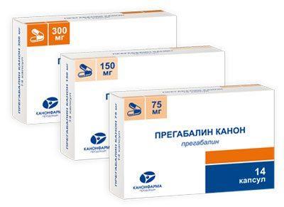 Препарат прегабалин