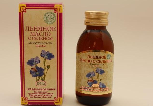 Польза и вред льняного масла с селеном