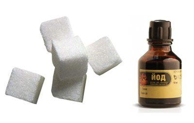 Сахар и йод