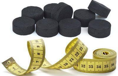 Уголь и похудение