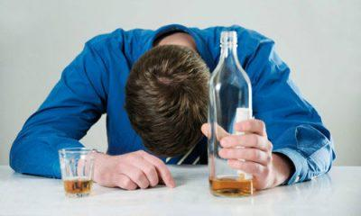 Употребление алкоголя в большом количестве