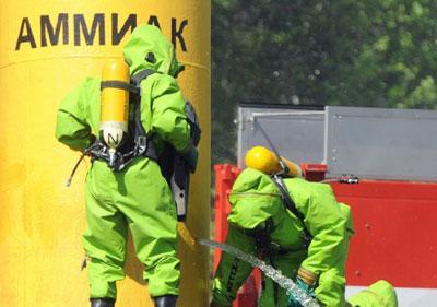 Отравление аммиаком и хлором: как оказать первую помощь