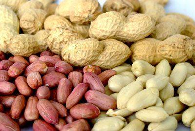 Зерна арахиса