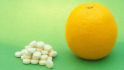 Аскорбиновая кислота и фрукты