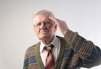 Склероз у пожилого человека
