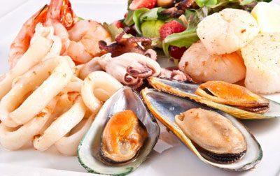 Разнообразие морепродуктов