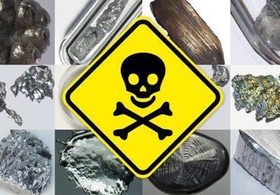Отравления солями тяжелых металлов.
