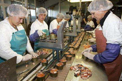 Сотрудники пищевой промышленности