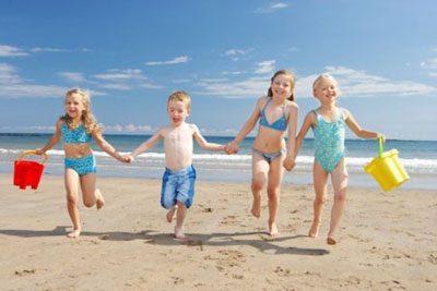 Радостные дети